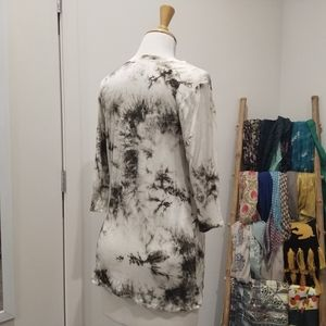 Chris & Carol Tops - Soft tie-dye 3/4 shirt